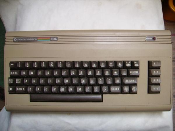 Vintage Commodor 64 Informatica