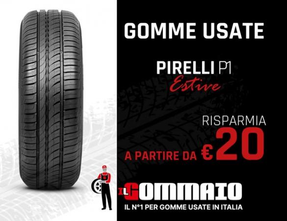 Gomme usate Pirelli P1 estive a partire da 20 Accessori Auto
