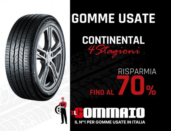 Continental 4 Stagioni prezzo -70%, Gomme Usate Accessori Auto