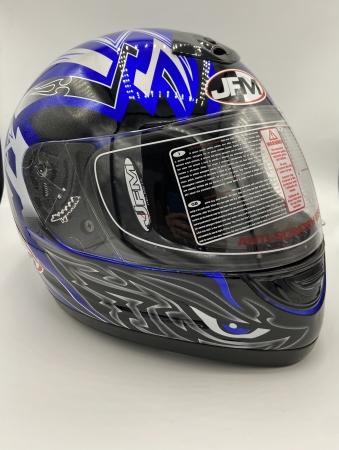 Casco integrale jfm + in omaggio pulisci casco Accessori Moto