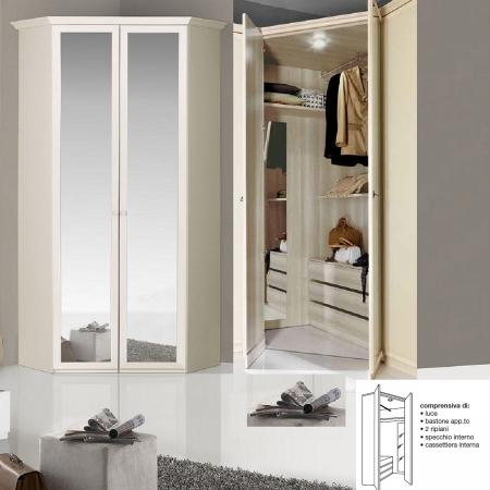 Cabina armadio Ninfea serie romantica Arredamento Casalinghi