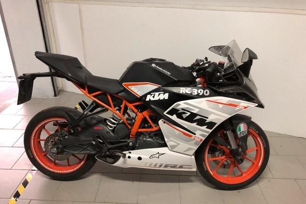 Ktm rc 390 Moto e Scooter