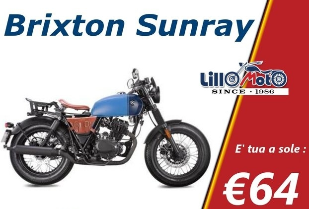 Brixton Sunray 125 Moto e Scooter