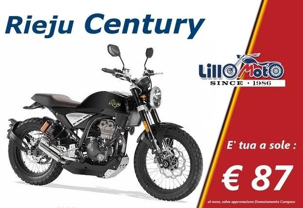 Rieju Century 125 Moto e Scooter