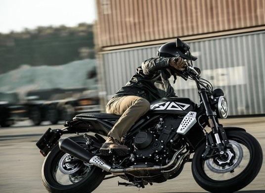 Brixton Crossfire 500X Moto e Scooter