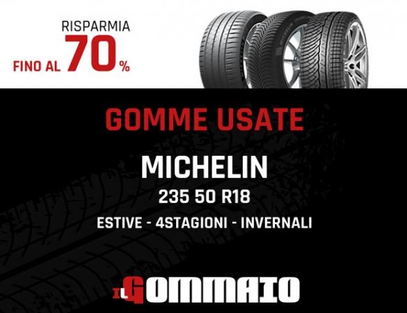 Gomme Usate 235 50 R18 97H Michelin come nuove Accessori Auto