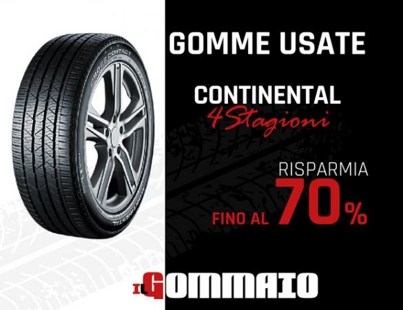 Gomme Usate Continental 4 Stagioni prezzo -70% Accessori Auto