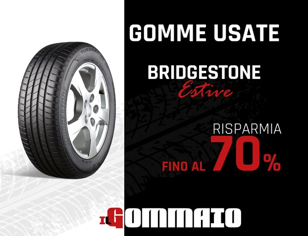 Gomme Usate Bridgestone Estive prezzo scontato 70%