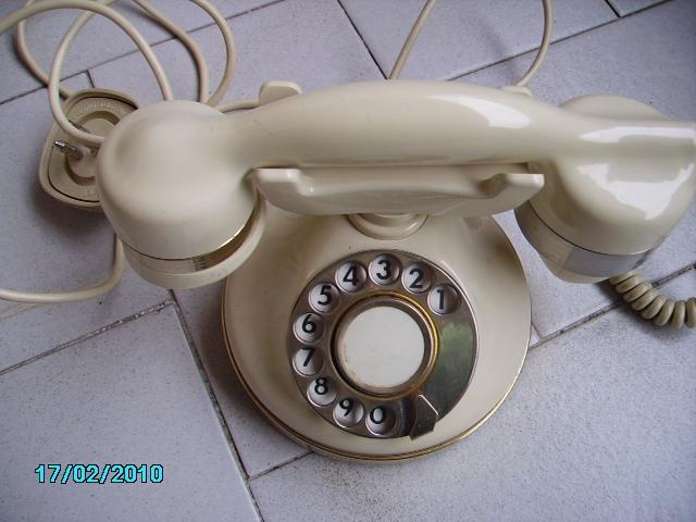 Vintage Telefono fisso in bachelite